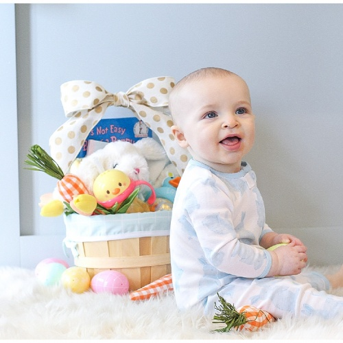 Show me the Bunny | Baby's First Easter Basket Ideas