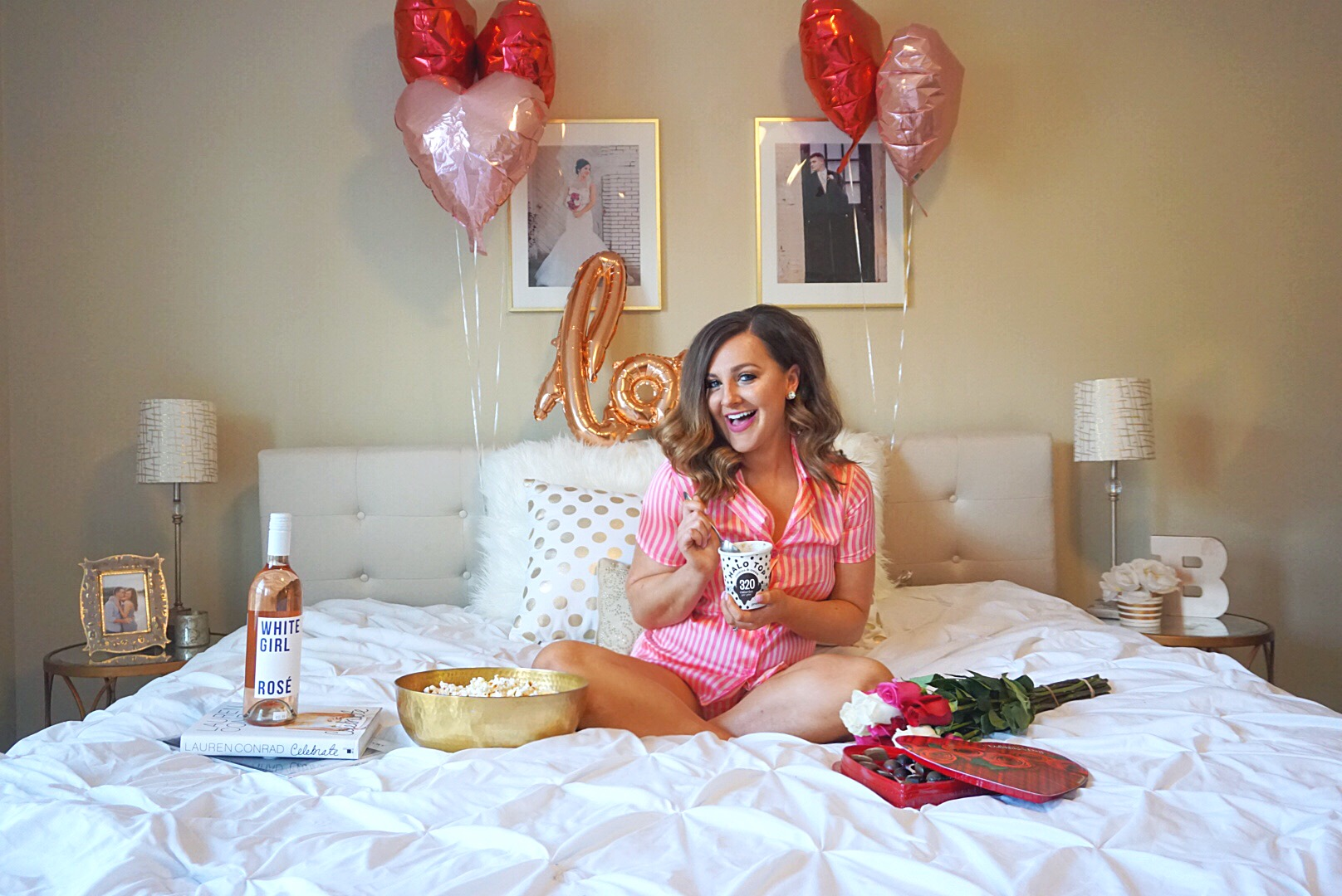 An At-Home Valentine's Extravaganza