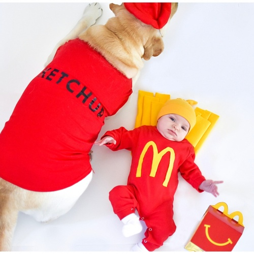 Happy Meal Family Halloween Costumes
