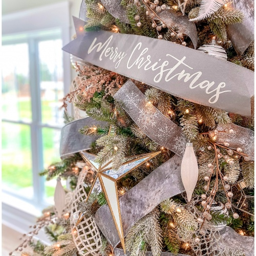 Type A Style Holiday Decorating Series | Modern Metallic Glam