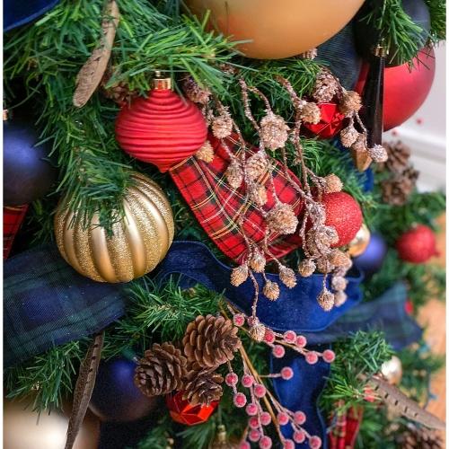 Type A Style Christmas Decorating Series | J. Crew Tartan Plaid